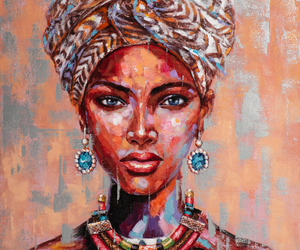 beauté africaine avec turban