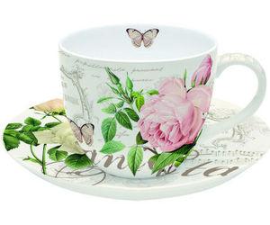Botanique tasse à déjeuner
