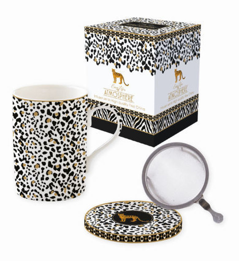 tisanière léopard