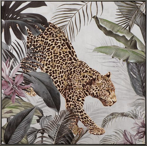 Léopard dans la jungle