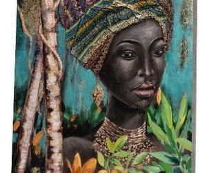 beauté ébéne avec turban