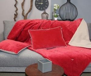 coussin Jaipur rouge
